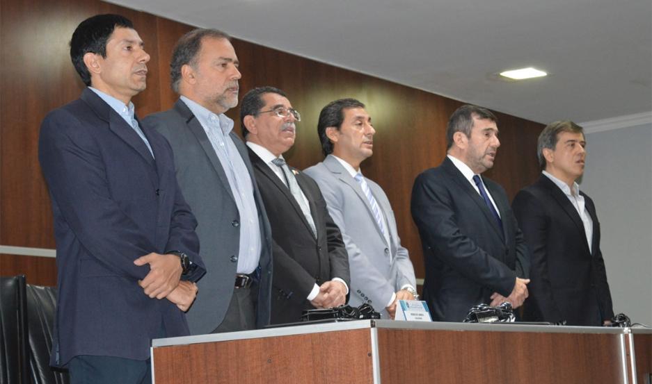 El lanzamiento del curso se efectuó en el Instituto de Formación Policial.