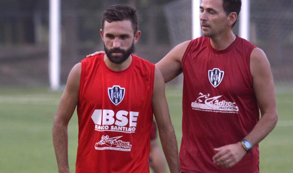 Allione se incorporó ayer a los entrenamientos en Central Córdoba. El ex Palmeiras se ilusiona con poder lograr los objetivos grupales.