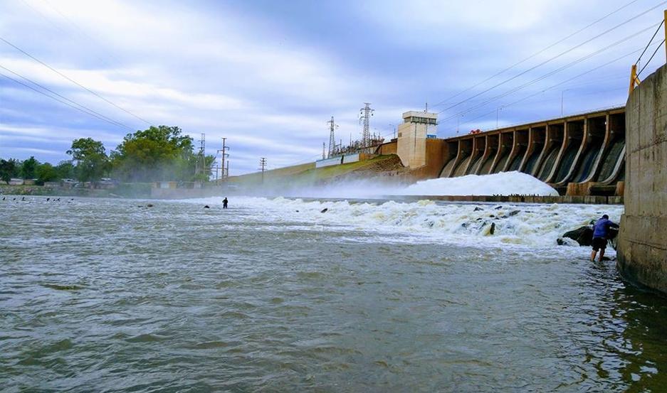 Las Termas de Río Hondo.