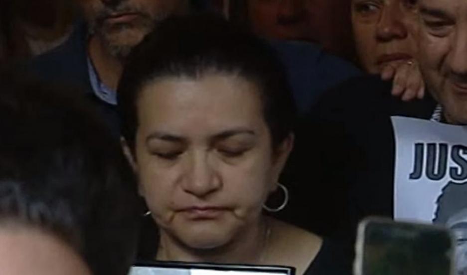 Graciela Sosa, mamá de Fernando Báez Sosa.