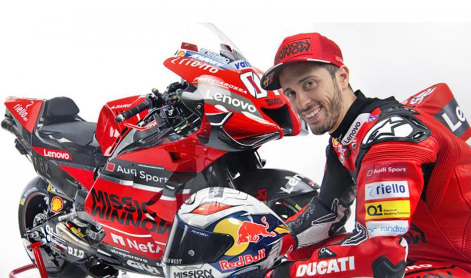 PROTAGONISTA. Andrea Dovizioso está más que ansioso para saltar a la pista a defender los colores de Ducati.