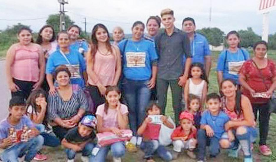 COORDINACIÓN. Los integrantes de La Nueva Sinaí realizan su trabajo pastoral en el interior choyano