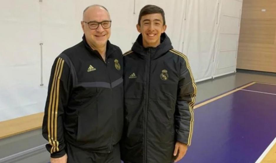 El adolescente Francisco Zustovich (foto) será parte del equipo del santiagueño Gabriel Deck.