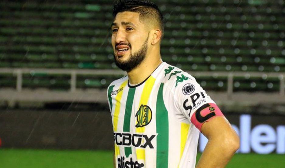 Jonathan Galván dio sus primeros pasos, en el fútbol grande de la Argentina, con Aldosivi de Mar del Plata.