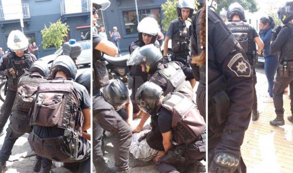 Una discusión habría provocado que el hombre quede detenido.Foto: UNO Santa Fe