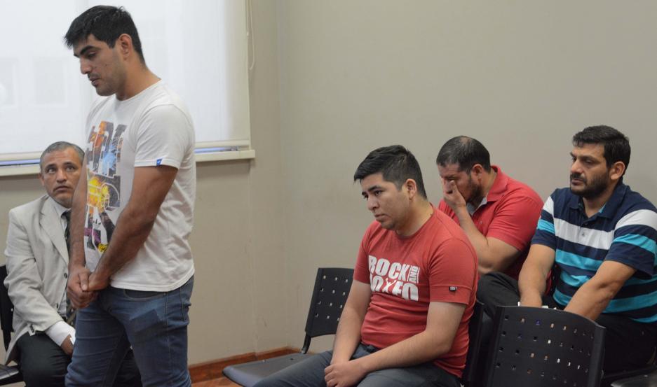 PREVENTIVAS. Desde noviembre, Serrano, Campos, Rubín y Díaz Páez guardan silencio, pero el encierro empieza a inquietarlos.