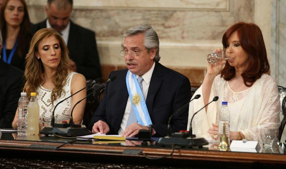 APOYO. Claudia de Zamora fue propuesta por Cristina Kirchner para ejercer la presidencia provisional del Senado.