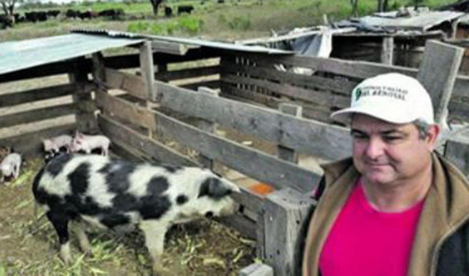 TURCUTTO. Titular de la Sociedad Rural Zonal de Frías, hay preocupación por las lluvias.