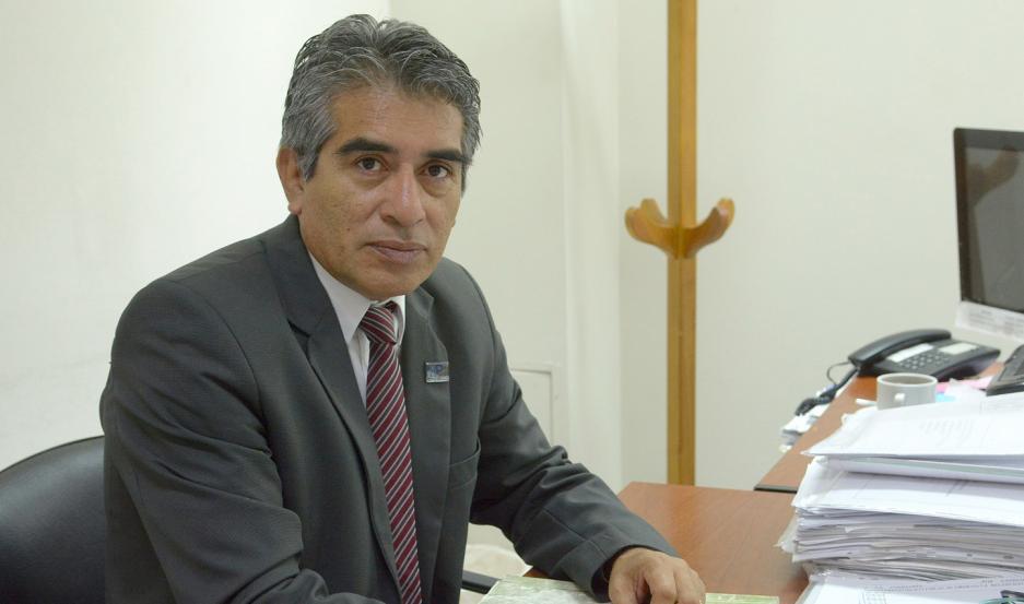 FISCAL. El Dr. Hugo Herrera estuvo a cargo de la causa.