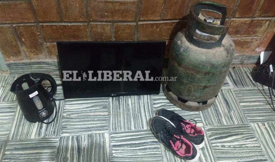 Los bienes sustraídos lograron ser recuperados por la policía de Loreto.