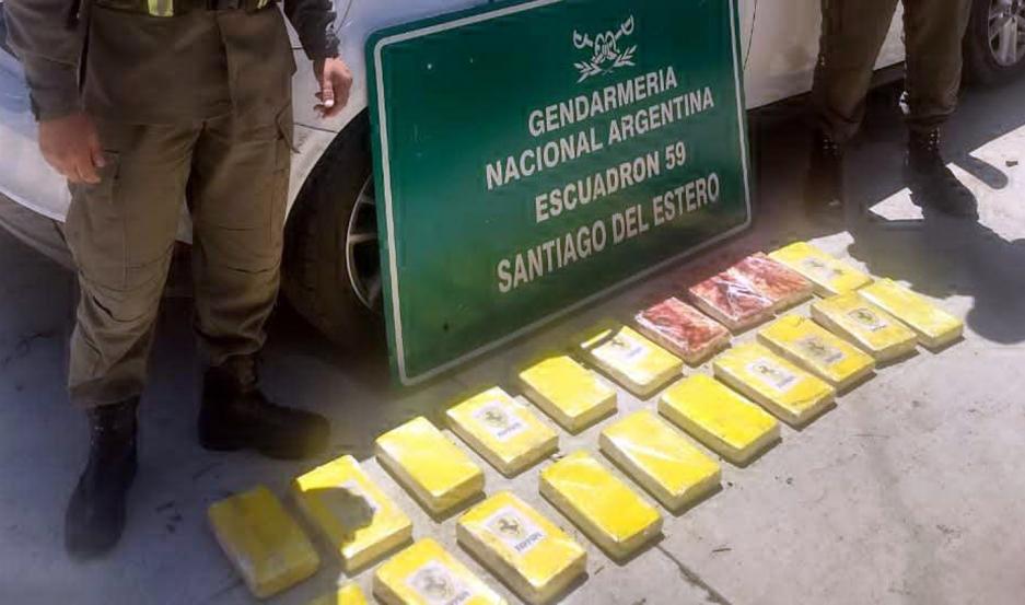 Operativo de Gendarmería Nacional.