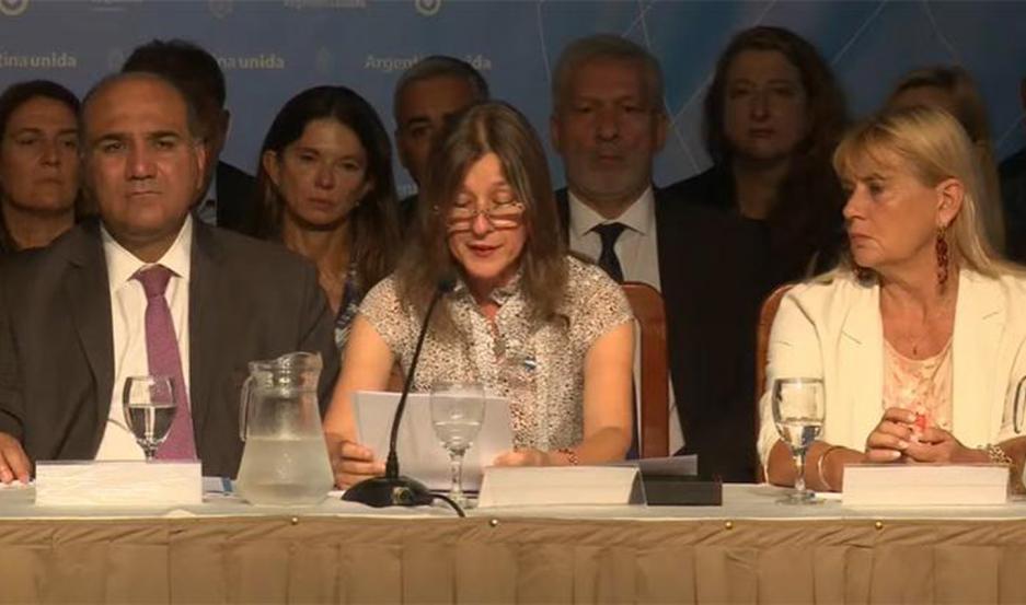 Polémica frase del gobernador de Tucumán durante la reunión del Consejo Federal de Seguridad