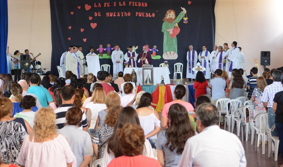 JORNADAS. El encuentro finalizará el domingo con la misa de clausura que sería oficiada por el obispo diocesano.