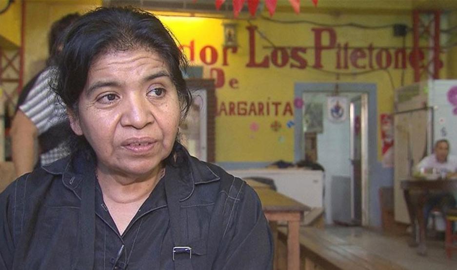 Margarita Barrientos.