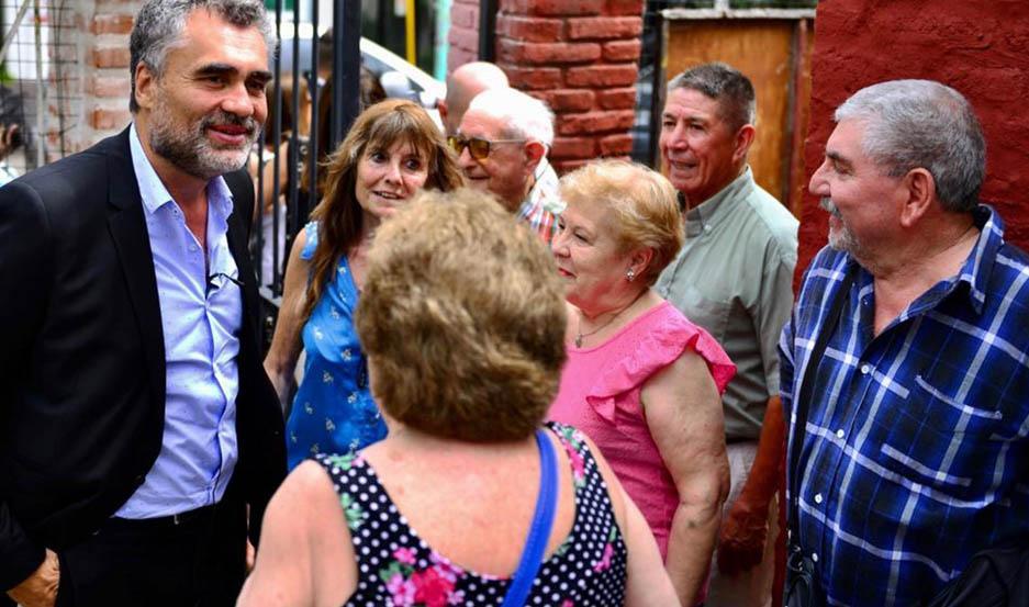 """CONCEPCIÓN. """"Los jubilados de la mínima son la prioridad"""", dijo Vanoli."""