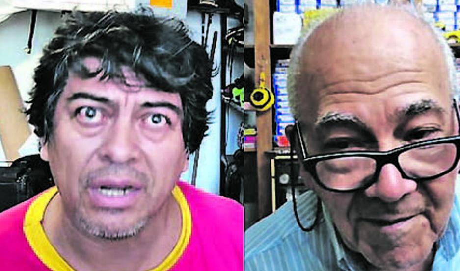 Luis Geréz y Mario Álvarez.