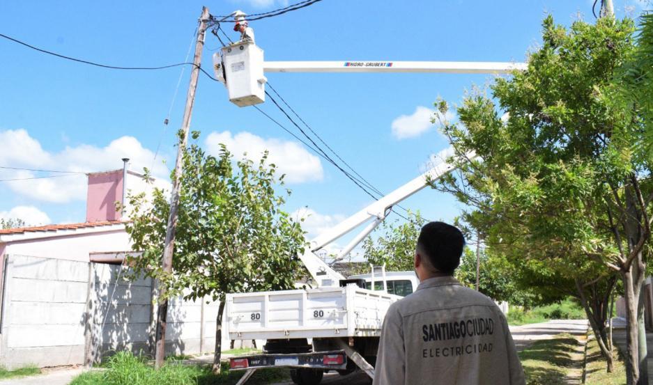 El propósito de la comuna es realizar paulatinamente el cambio de iluminación en la ciudad, con tecnología LED.
