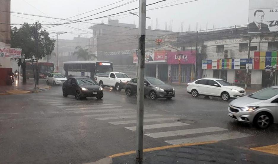 Continúa vigente el alerta por fuertes tormentas para Mar del Plata