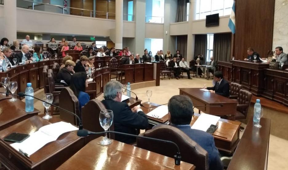 Primera sesión ordinaria de la Cámara de Diputados.