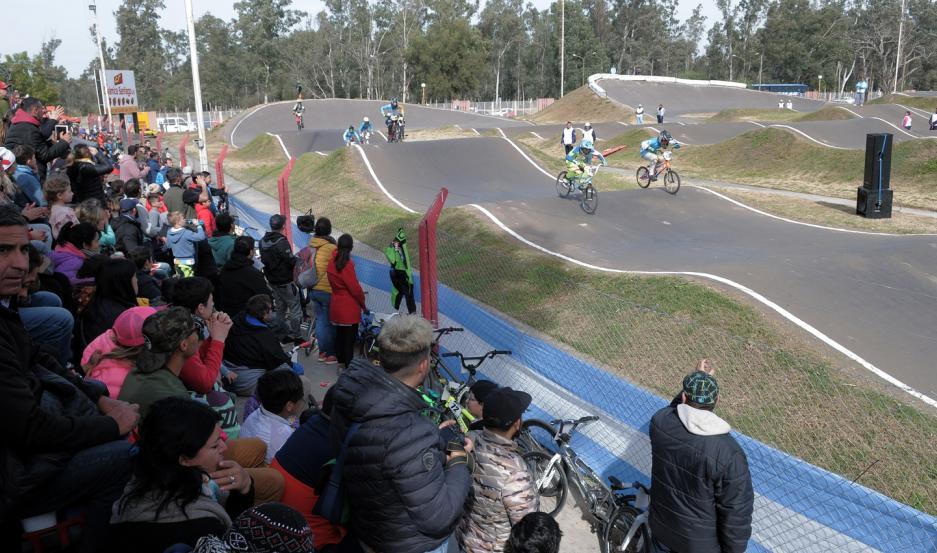 """ESCENARIO. La pista """"La Catedral"""" se poblará de bikers este fin de semana con las pruebas por el Argentino; el Open y la Copa Latinoamericana."""