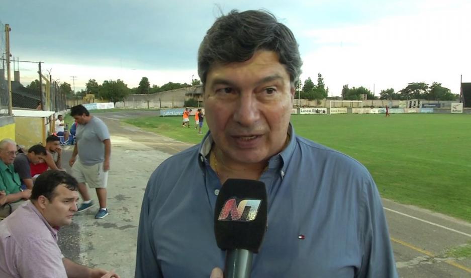 CONFIANZA. Guillermo Raed, presidente de Mitre, confía en que el equipo puede revertir el presente en el torneo.