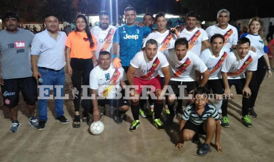 Los partidos corresponden a la final de la Copa de Oro del torneo de la C 30.