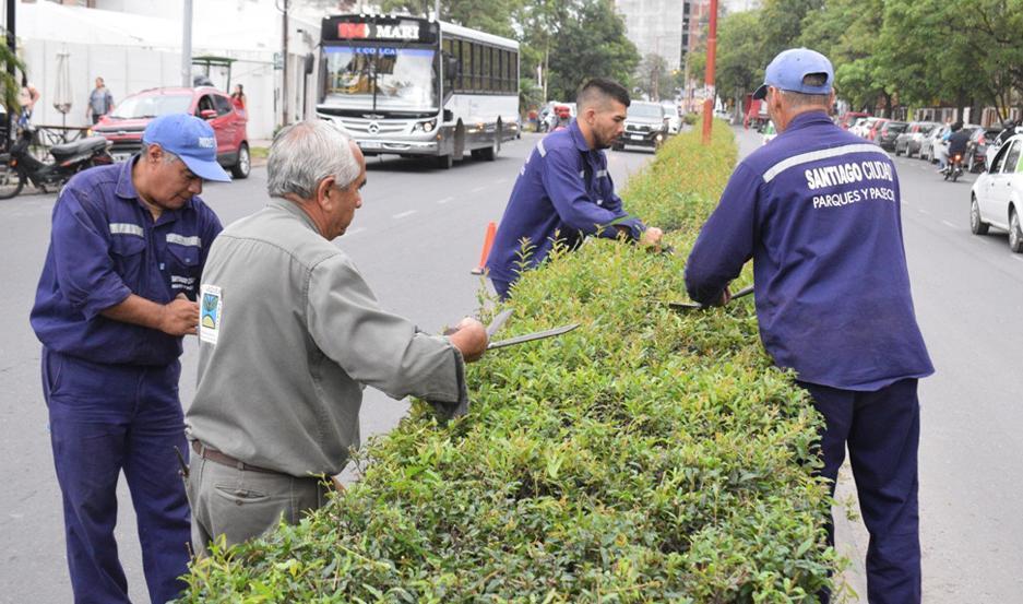 TRAMO. Los trabajos se realizaron en Ameghino y la avenida Solís.