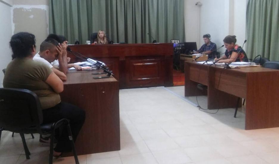 AUDIENCIA El debate fue extenso y terminó con preventivas para los presos.