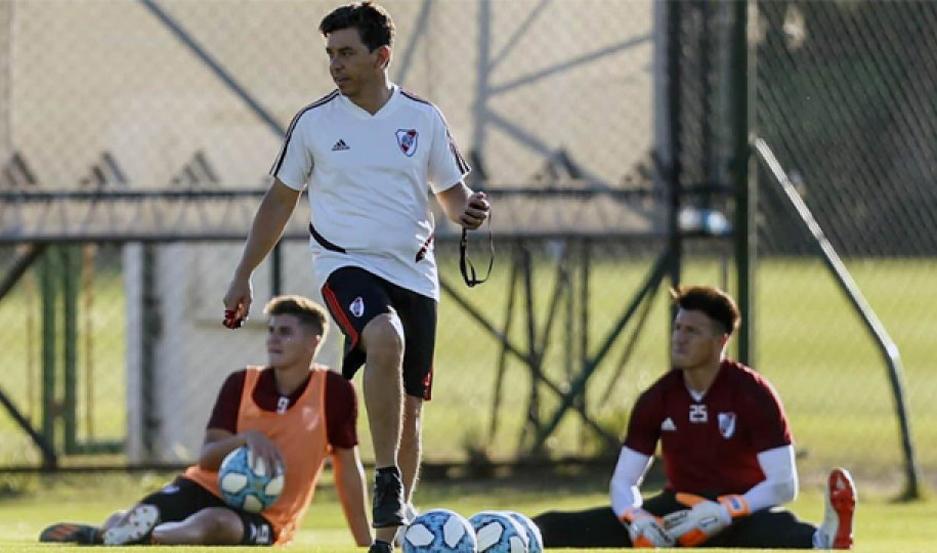 CONFIANZA. Marcelo Gallardo repetiría el equipo titular para visitar a Estudiantes de La Plata, el domingo.