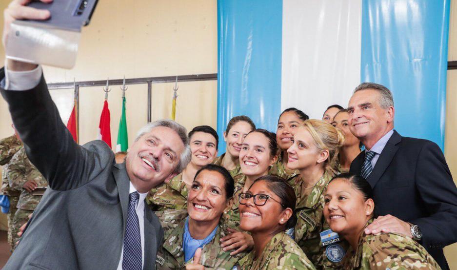 El acto tuvo lugar en el Centro Argentino de Entrenamiento Conjunto para Operaciones de Paz (CAECOPAZ).