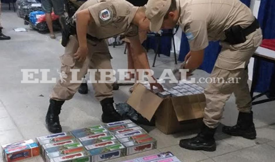 La mercadería incautada fue puesta a disposición del Juzgado Federal de Santiago del Estero.