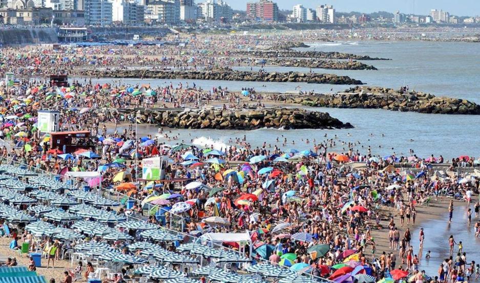 Según el informe oficial, hubo un incremento general en la cantidad de turistas del 4,1 por ciento.
