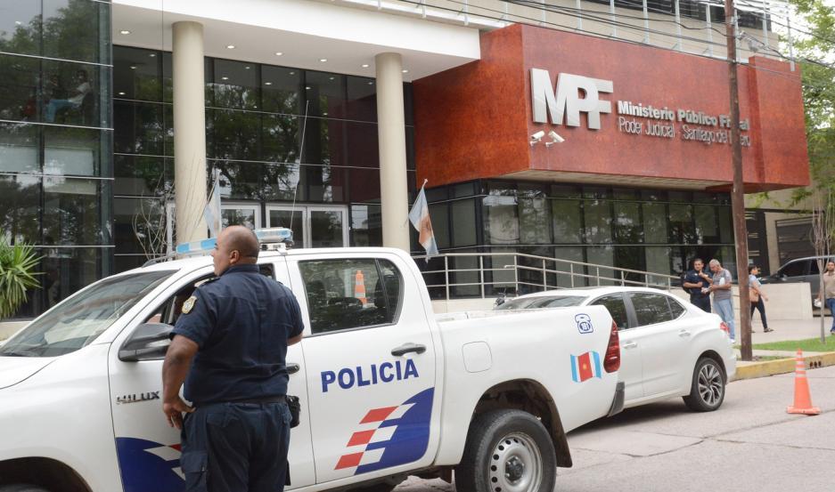 MEDIDAS. El fiscal Diego Cortés solicitó una orden de detención en su contra y la jueza dio luz verde.