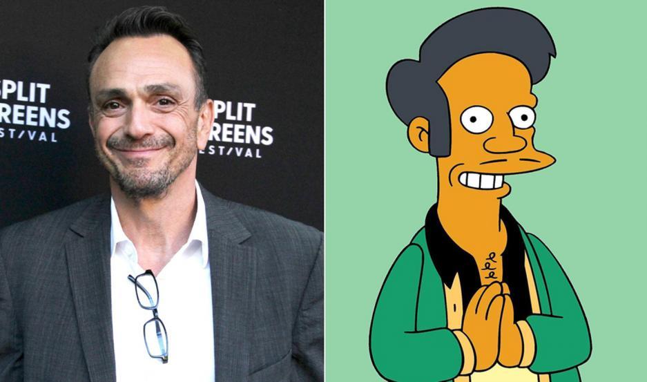 """Hank Azaria le da voz a otros personajes de """"Los Simpson"""". No se sabe si Apu continuará con el aporte de otro actor."""