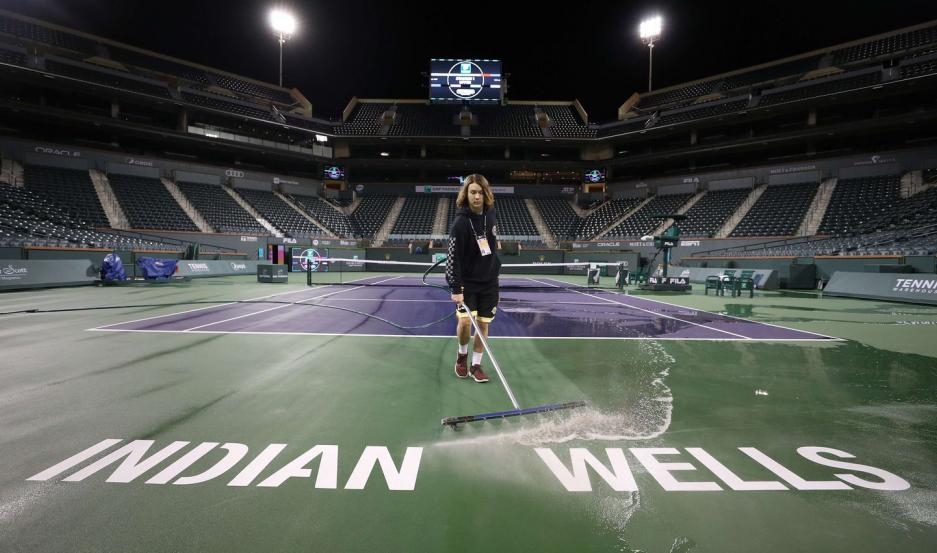Suspendieron el torneo de tenis Master 1000 de Indian Wells