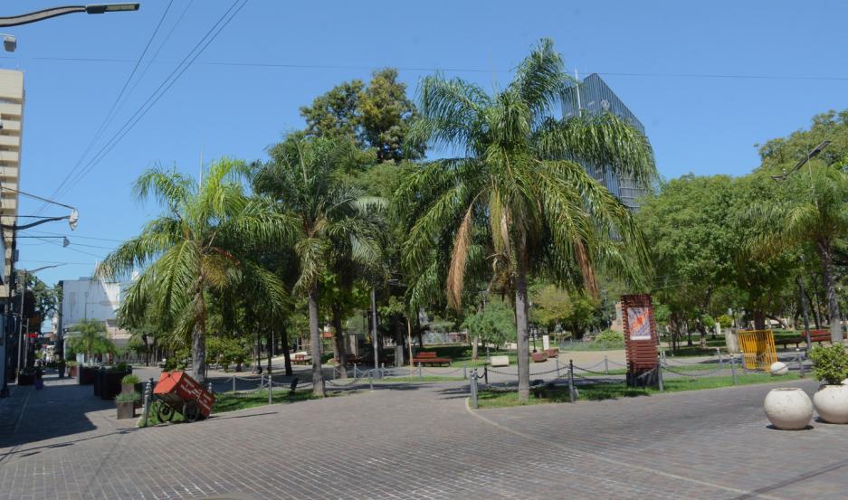 Plaza Libertad, Santiago del Estero.