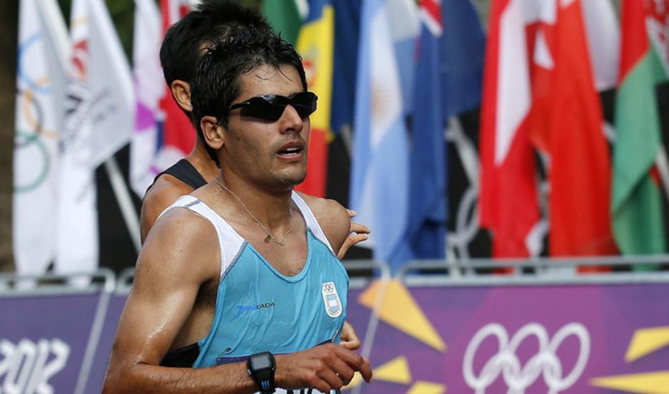 ESPERANZA. El marchistaya tiene tres Juegos Olímpicos encima y ahora piensa en clasificar para Tokio 2021