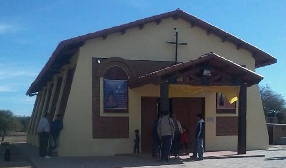 TEMPLOS. Participaron del homenaje la parroquia Virgen del Carmen, y las capillas de Chilca Juliana y de Villa Salavina
