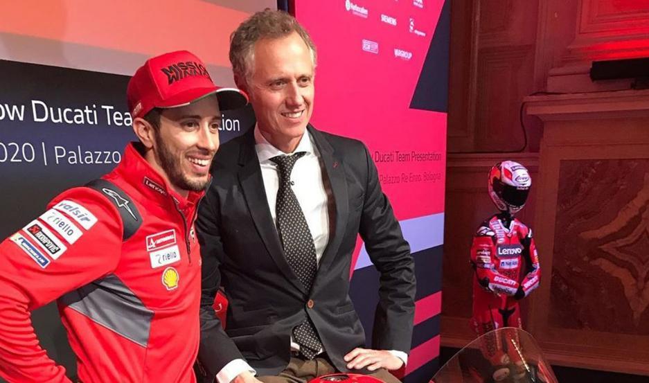 ILUSIÓN. Simone Battistella dijo que la cancelación del GP de Qatar fue un duro golpe para los pilotos, incluido Andrea Dovizioso, pero se mostró optimista.