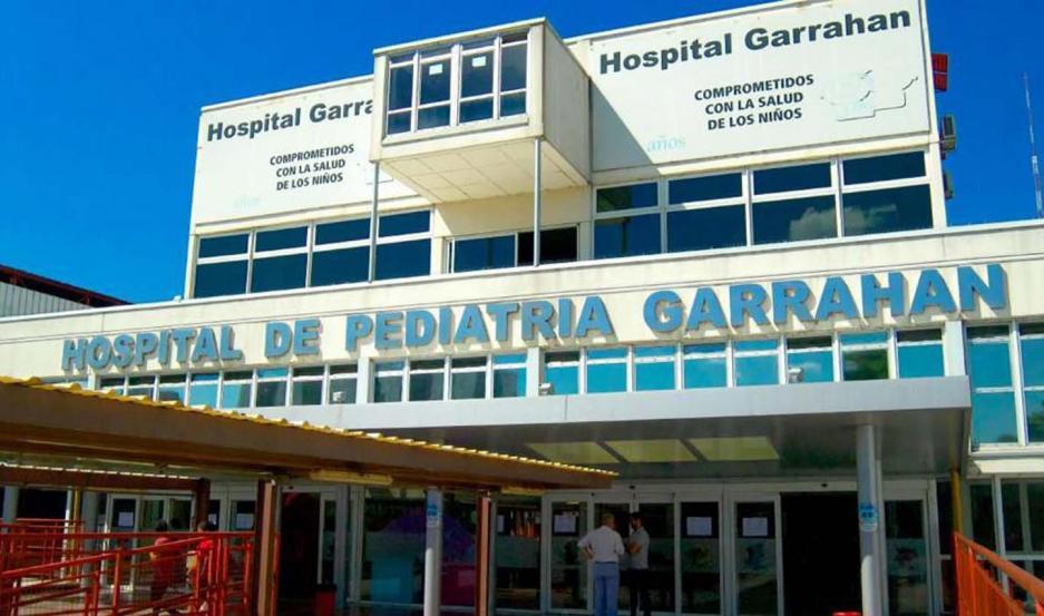 El profesional trabaja en el hospital Garrahan.