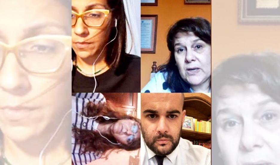 Las partes expusieron sus posturas a través de una video llamada para resolver la situación procesal del imputado.