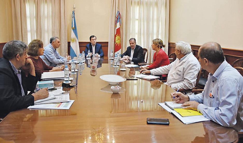 Reunión de Gabinete por el Covid-19.