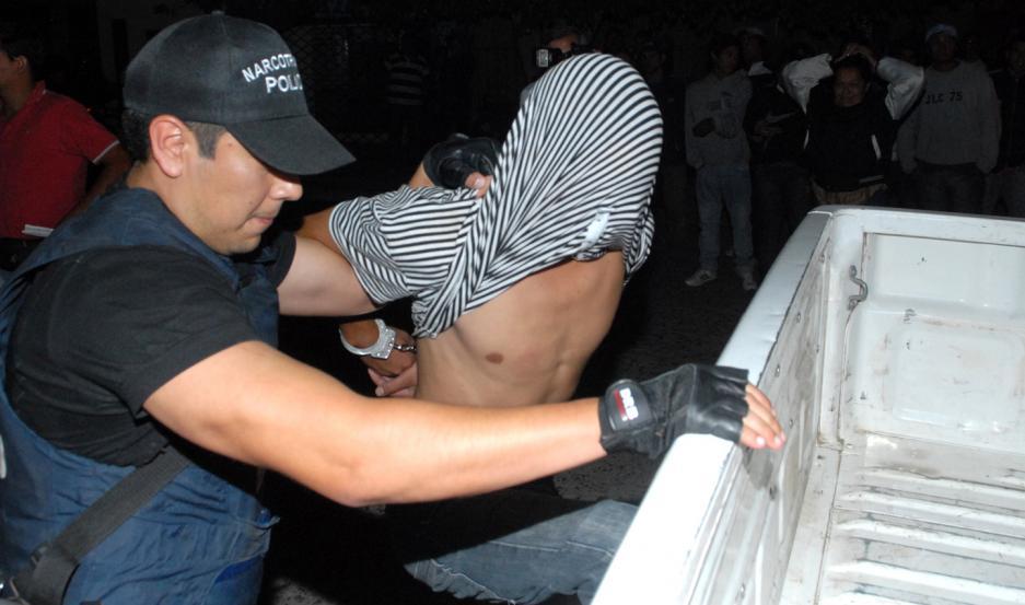 """OPERATIVO. """"Palla"""" fue detenido la semana pasada mientras circulaba en automóvil por el barrio San Fernando."""