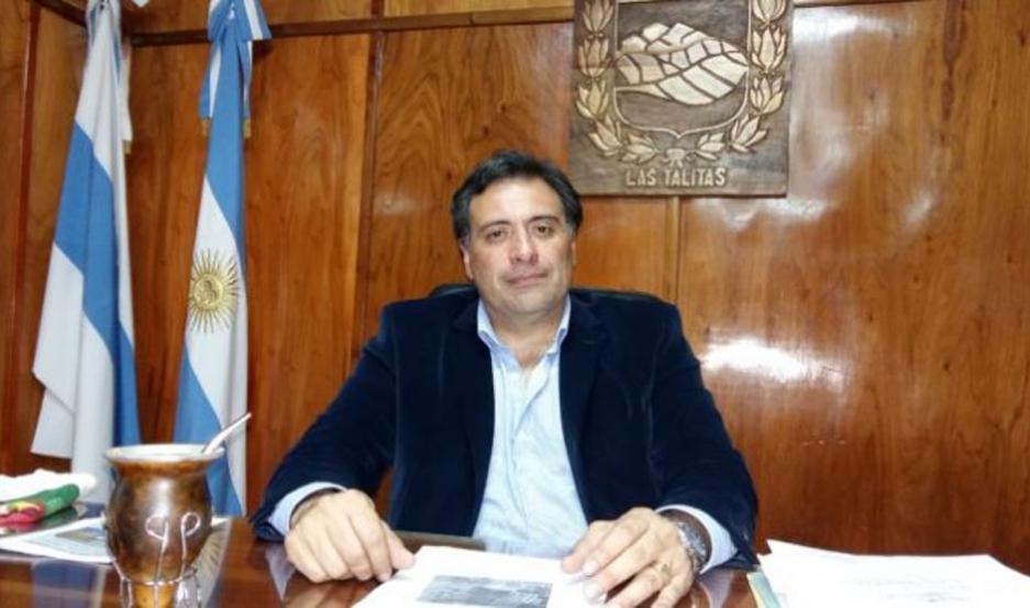 Carlos Najar asumió el año pasado su segundo mandato como intendente de Las Talitas.