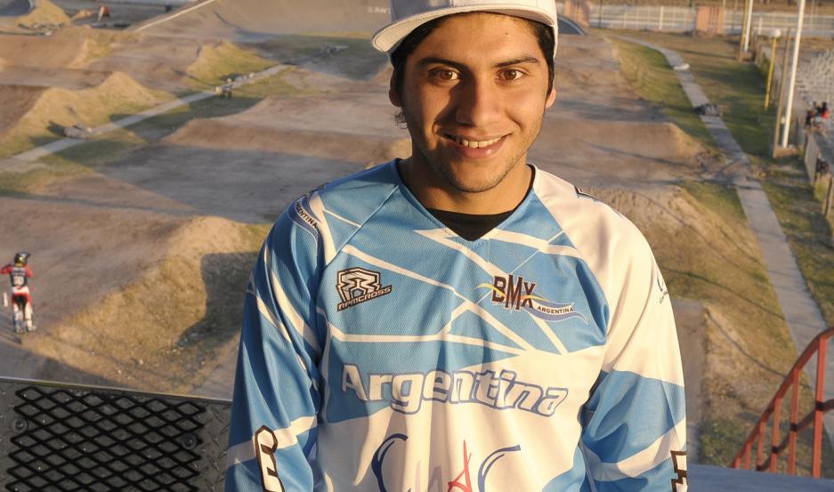 """""""Pichoncito"""" tuvo sus mejores momentos en el BMX"""