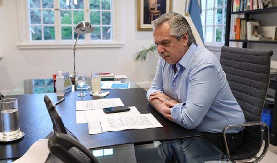 Fernández dialogó con Conte por media hora y resaltaron la importancia de una nueva agenda mundial.