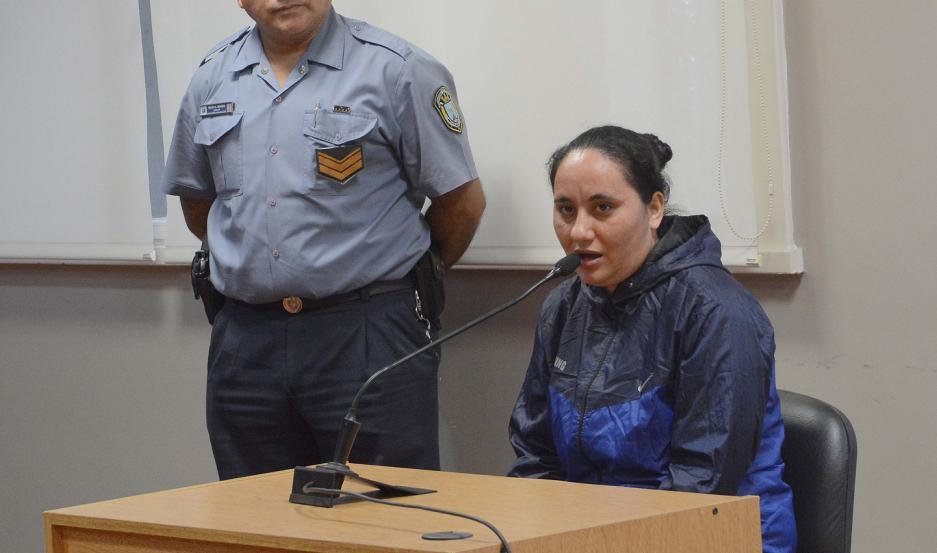 """POSTURA. El juicio contra """"Pitu"""" comenzó en febrero último y al declarar, se manifestó inocente."""