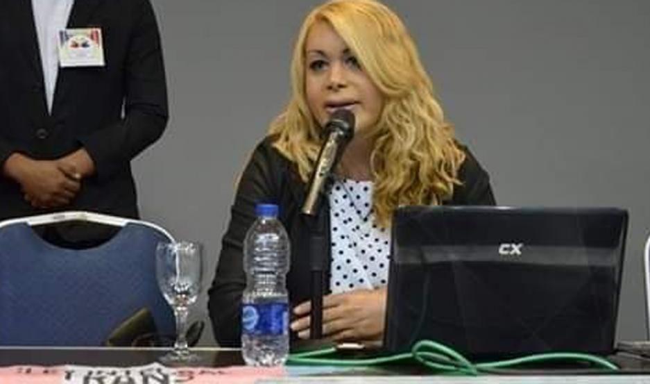 Julieta Paz, trabajadora social y presidenta de Diversidad Valientes Santiagueñas (Divas).