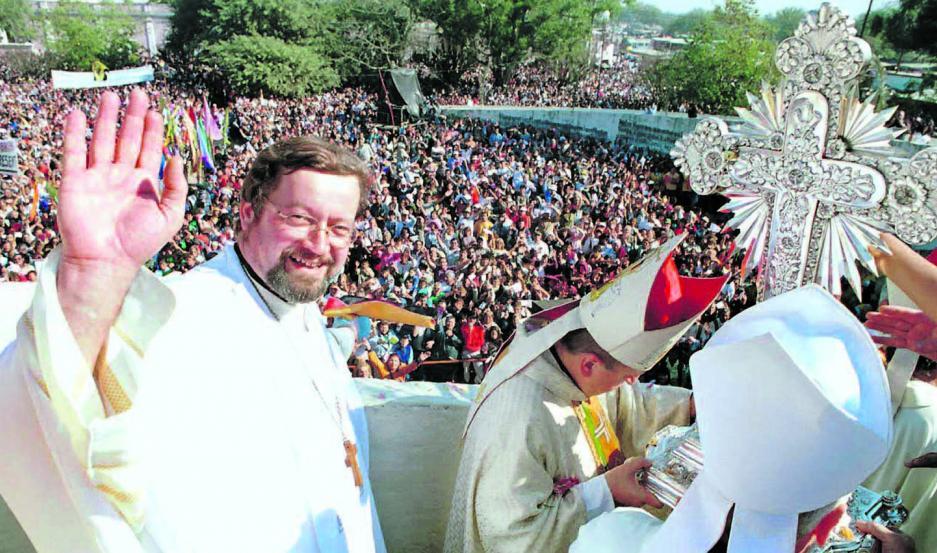 HISTORIA. El padre Sigmund se dedicó a estudiar la historia del Señor de los Milagros de Mailín y es muy recordado por su misión como rector del santuario.