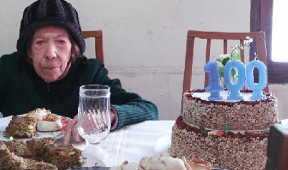 AGRADECIDA. María Carolina festejó de una manera especial.